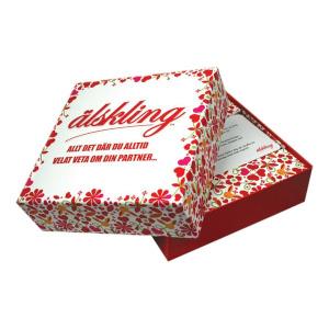 Älskling frågespel i julklapp