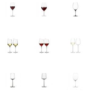 Glas med gravyr - Vin julklapp