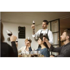 vinprovning i julklapp