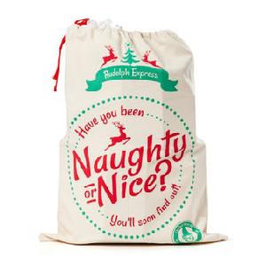 Rolig julklappssäck naughty or nice