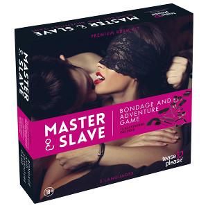 erotisk spel i julklapp master & slave