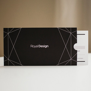 Presentkort på design