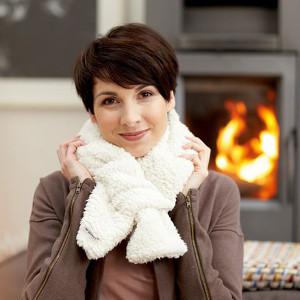 Julklappstips på vetevärmare halsduk