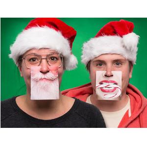 Face Mats julunderlägg till julfest