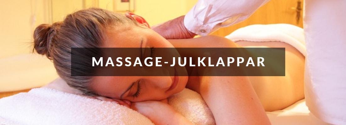 Julklappstips inom massage till flickvän