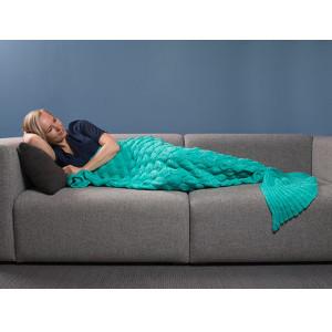 Julklappstips på sjöjungfru-filt