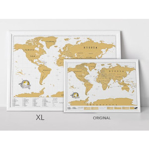 Julklappstips på skrapkarta XL