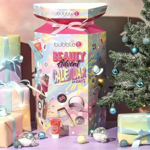 Bubblet adventskalender med badbomber