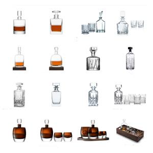 Whisky julklappar - karaff med gravyr