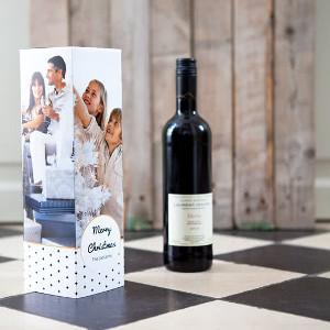 Julklappskartong för vin