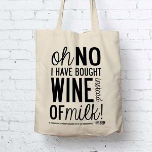 Tygkasse vin