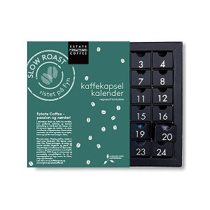 Estate kaffekalender 2021 - Adventskalender med kaffekapslar