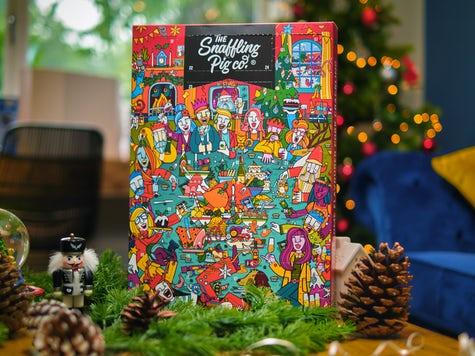 Julkalender fläsksvålar