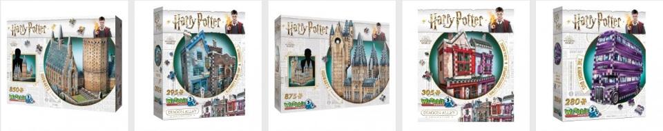 Harry Potter pussel i 3D