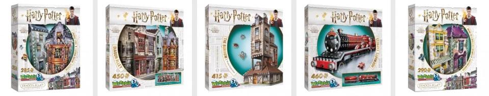 Harry Potter pussel som julklapp till barn