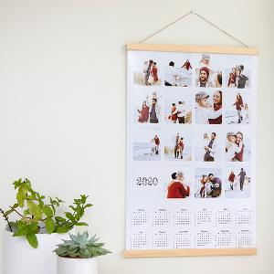 Posterkalender med hängare