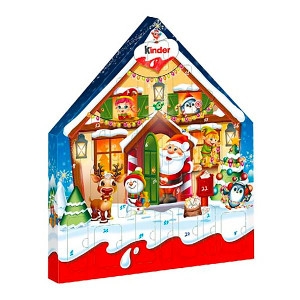 Kinder Maxi adventskalender 2021 - Chokladkalender barn