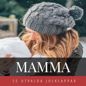 Julklappar till mamma - Bra julklappstips som passar mor