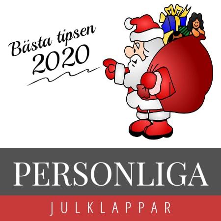 Personlig julklapp