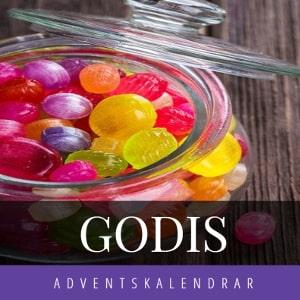 Adventskalender godis