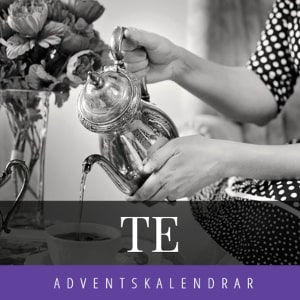 Tekalender - Adventskalender med te - Advent 2020