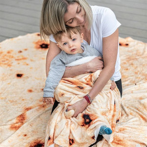 Burrito filt - Rolig julklapp 2021
