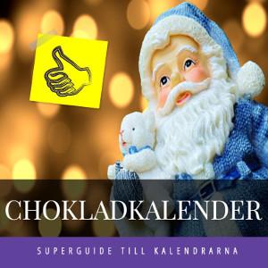 Chokladkalender - Adventskalender med choklad - Till barn & vuxna