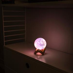 lampa måne 3D - julklappstips lampor