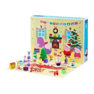 julkalender med leksaker