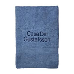 Personliga handdukar med brodyr