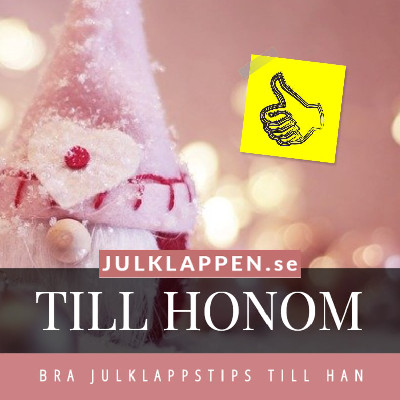 Julklapp & julklappstips till honom - Tips åt han 2021