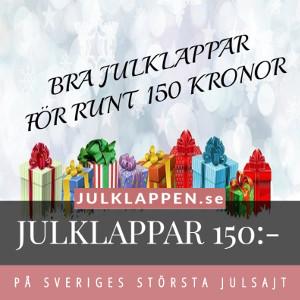 Julklappar & julklappstips 150 kr