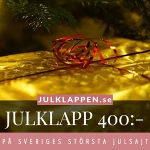 Julklappar & julklappstips 400 kr