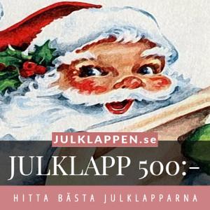 Julklappar & julklappstips 500 kr