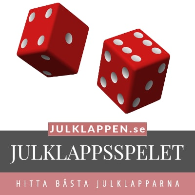 Julklappsspelet - Julklappar & julklappstips - 50, 100, 200, 300, 400 kronor