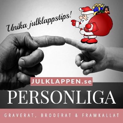 Personliga julklappar & julklappstips - För julen 2020