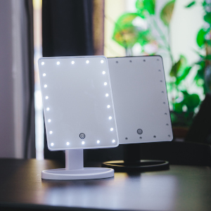Smnikspegel med LED-belysning - Julklapp till henne