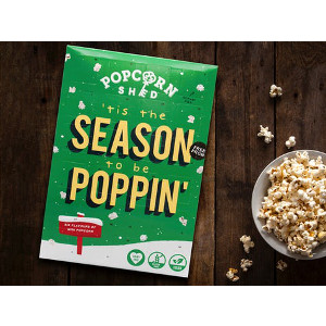Vegansk adventskalender med popcorn - Advent 2020