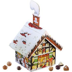 Adventskalender hus - Chokladkalender