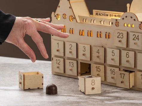 Magasin du Nord Exklusiv Chokladkalender i Trä
