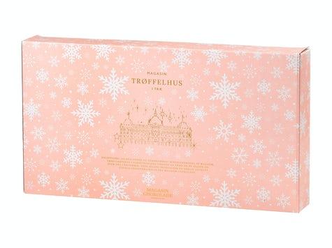 julkalender i trä med choklad