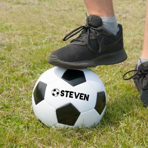 Fotboll med namn - Julklapp till fotbollsspelare