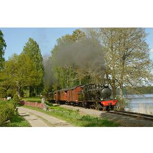 Historisk tågresa - Upptäckande julklapp till tågintresserad