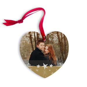 Romantiskt julgranspynt