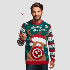 Jultröja med måltavla – Inklusive bollar