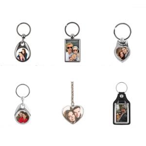 Billig personlig julklapp - Nyckelring med foto