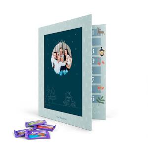 chokladkalender med foto - Adventskalender med choklad - Milka eller Toblerone