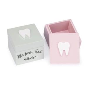 Tandask - Julklapp pojke & flicka som tappar första tanden