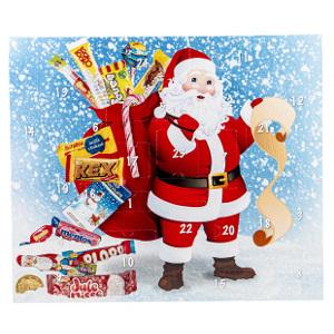 tomtens julkalender med godis