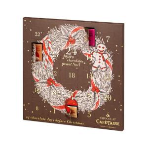 Adventskalender med belgisk choklad